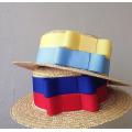 Соломенная шляпа канотье с полями 5 см