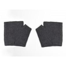 Перчатки-митенки короткие